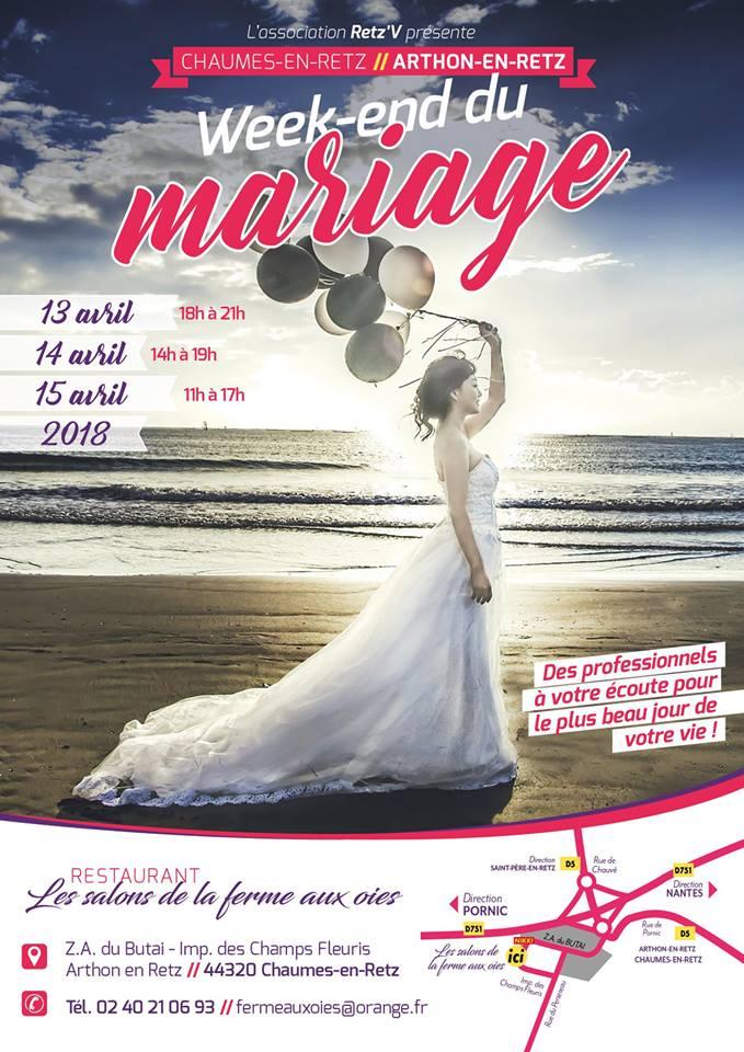 Week-end du mariage au restaurant Les Salons de la Ferme aux Oies à Arthon-en-Retz (Chaumes-en-Retz)