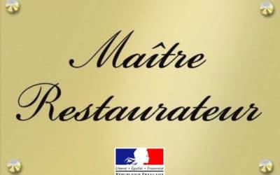 Un nouveau titre de Maître-Restaurateur