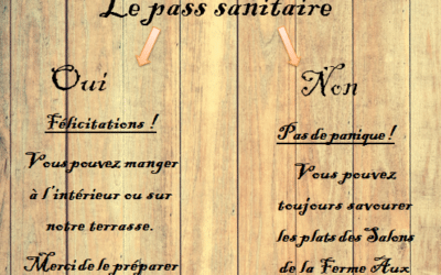 Pass sanitaire : Information